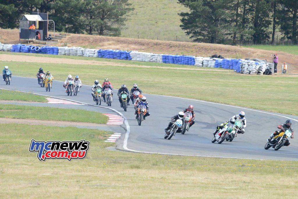 The two-stroke competition was very well represented