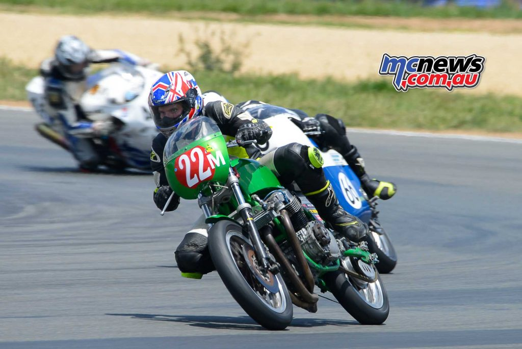 Corey Forde put on a great performance on the 1970 CB Honda 1204 winning the Period 4 Unlimited Championship