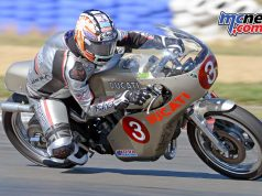 David Johnson on the immaculate Imola Replica