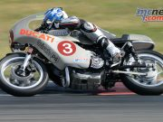 South Australian IOM racer Davo Johnson on the stunning Birch Imola Ducati.