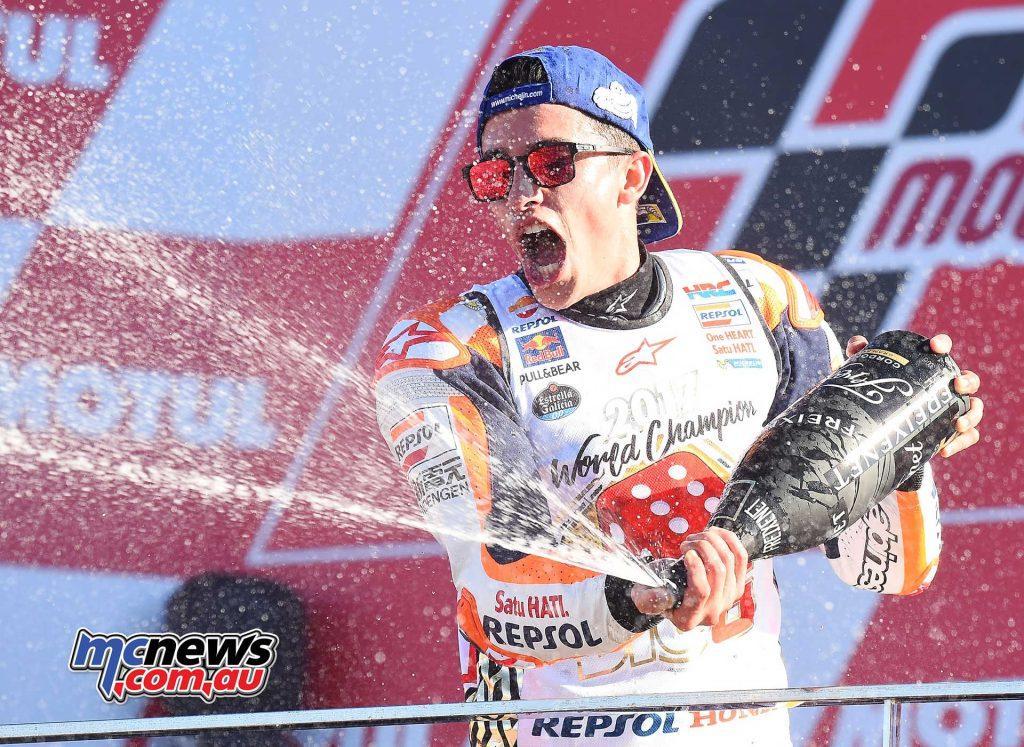 Marc Marquez - 2017 MotoGP World Champion - Celebrations