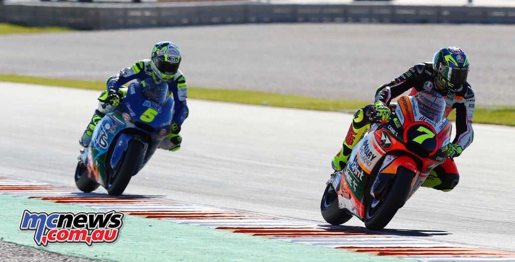 Lorenzo Baldassarri (Forward Racing Team) locked out the points scorers in the season finale - Image by AJRN