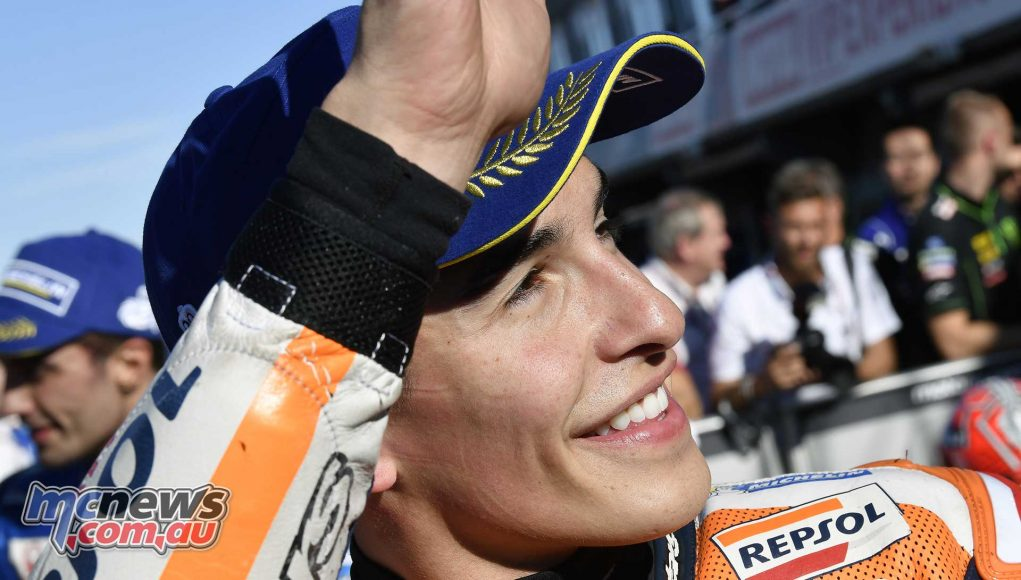 #FinalShowdown: Marquez lights up Valencia for pole