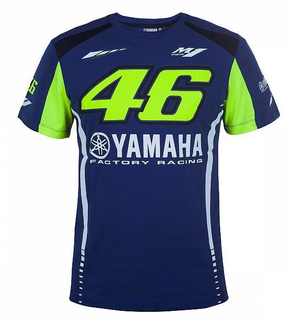 2017 MotoGP VR46 T-Shirt - $58 Part # VRY-17TSH-BL