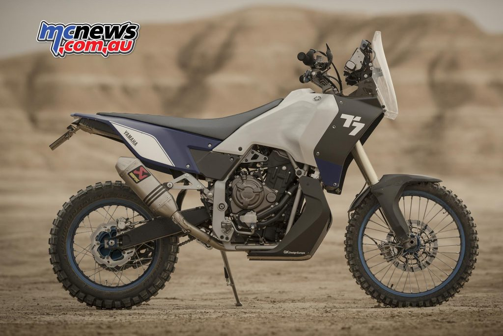 Yamaha Tenere 700 World Raid Edition Prototype