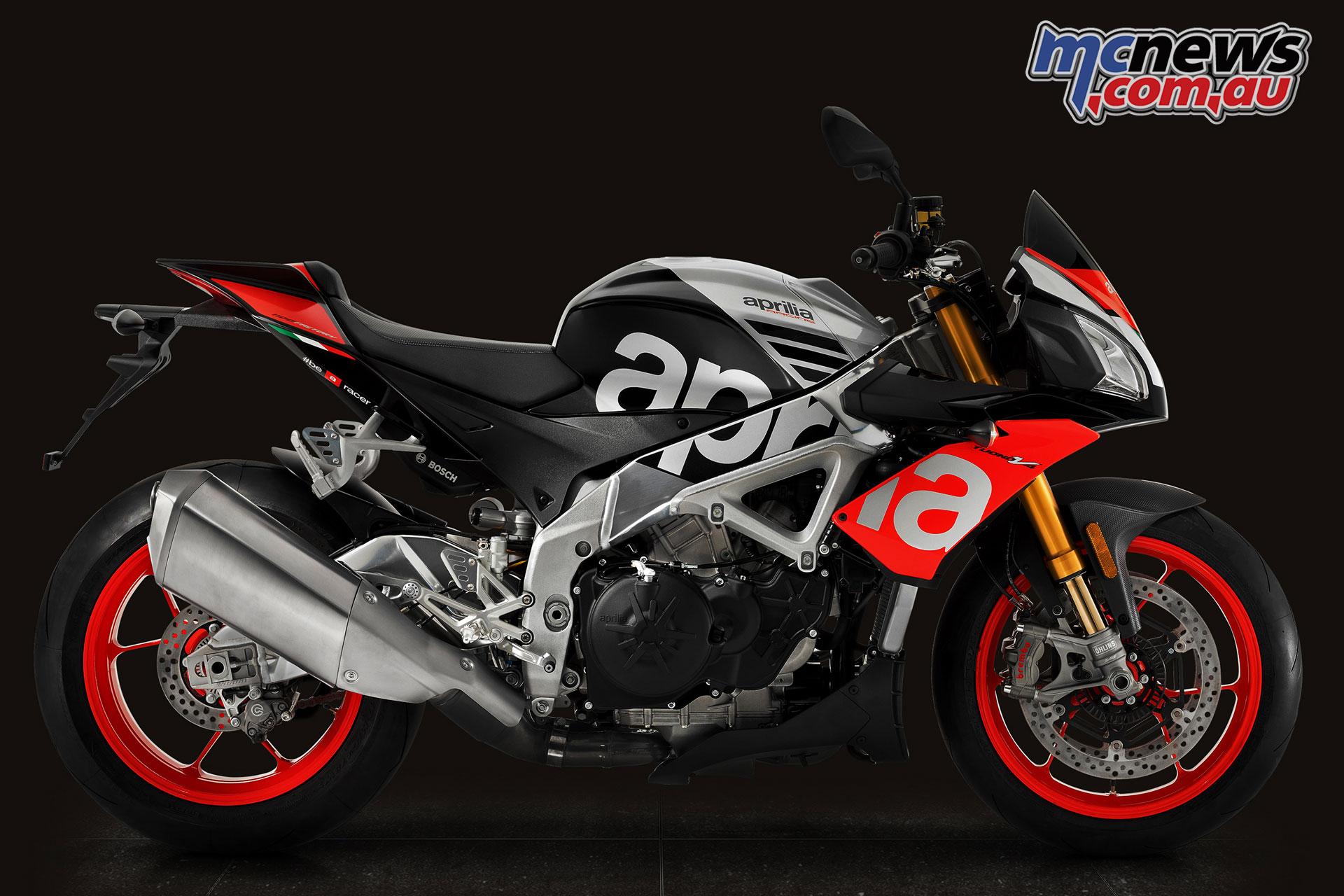 2018 Aprilia Tuono V4 1100 Factory V4 1100 Rr Motorcycle News Sport And Reviews