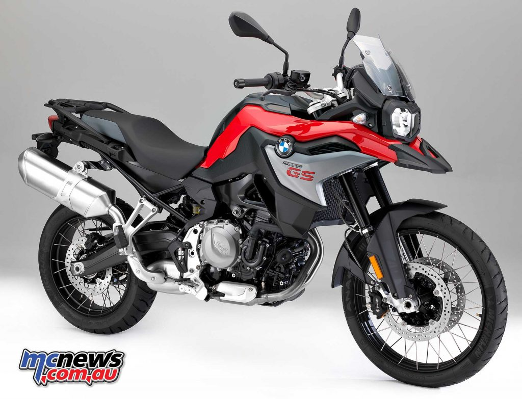 F 850 GS in Racing Red