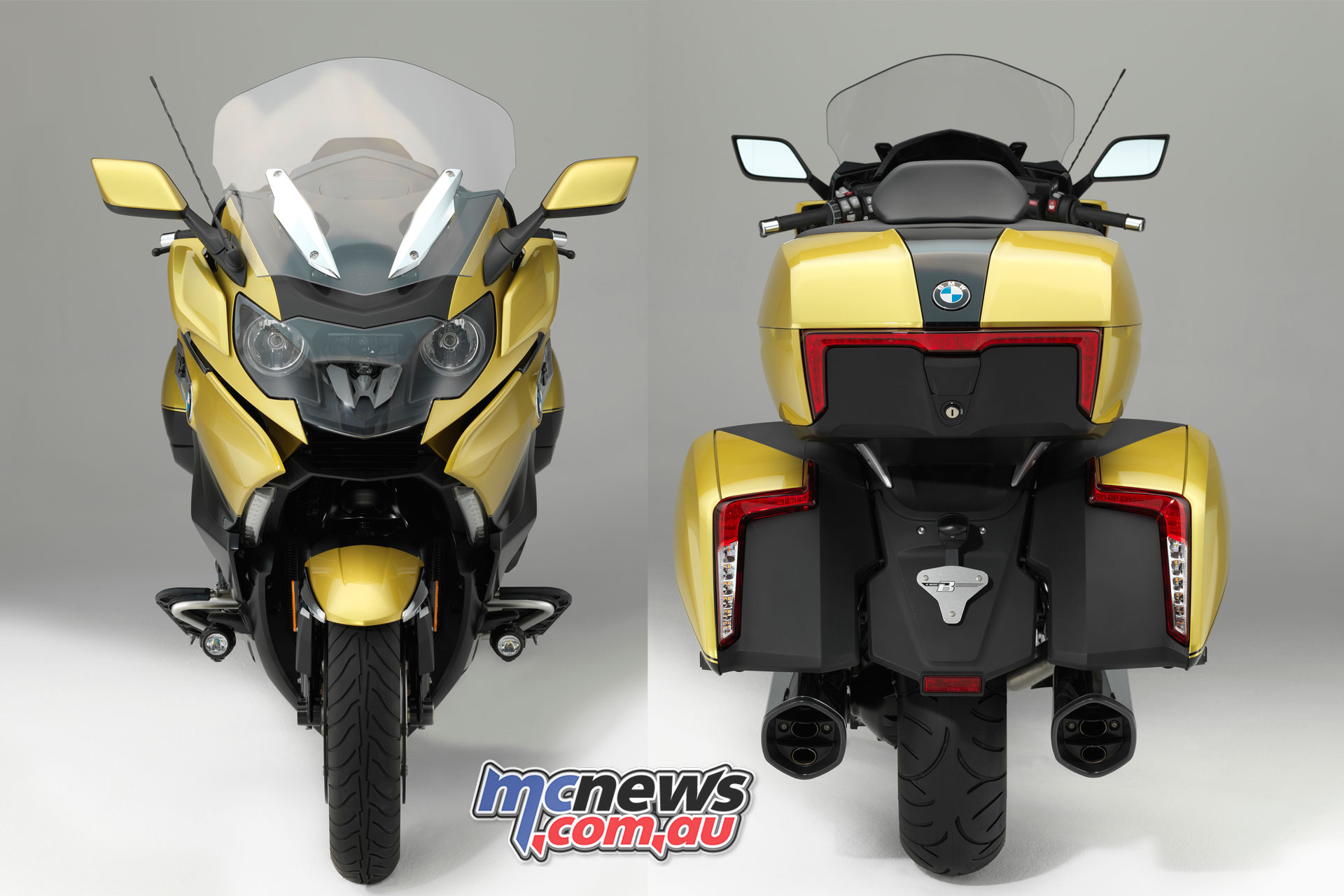 BMW K 1600 Grand America | Bagger with more bags! | MCNews