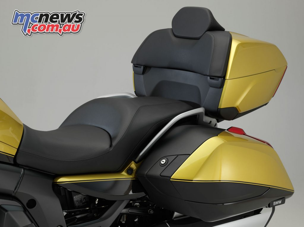 The K 1600 Grand America aims for the full comfort experience
