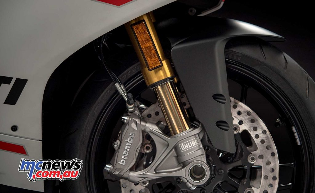 Features include Öhlins NIX30 forks