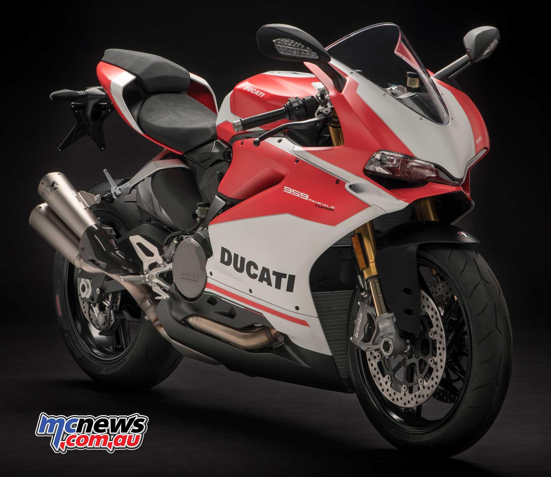 2018 Ducati Panigale 959 Corse Edition Mcnewscomau