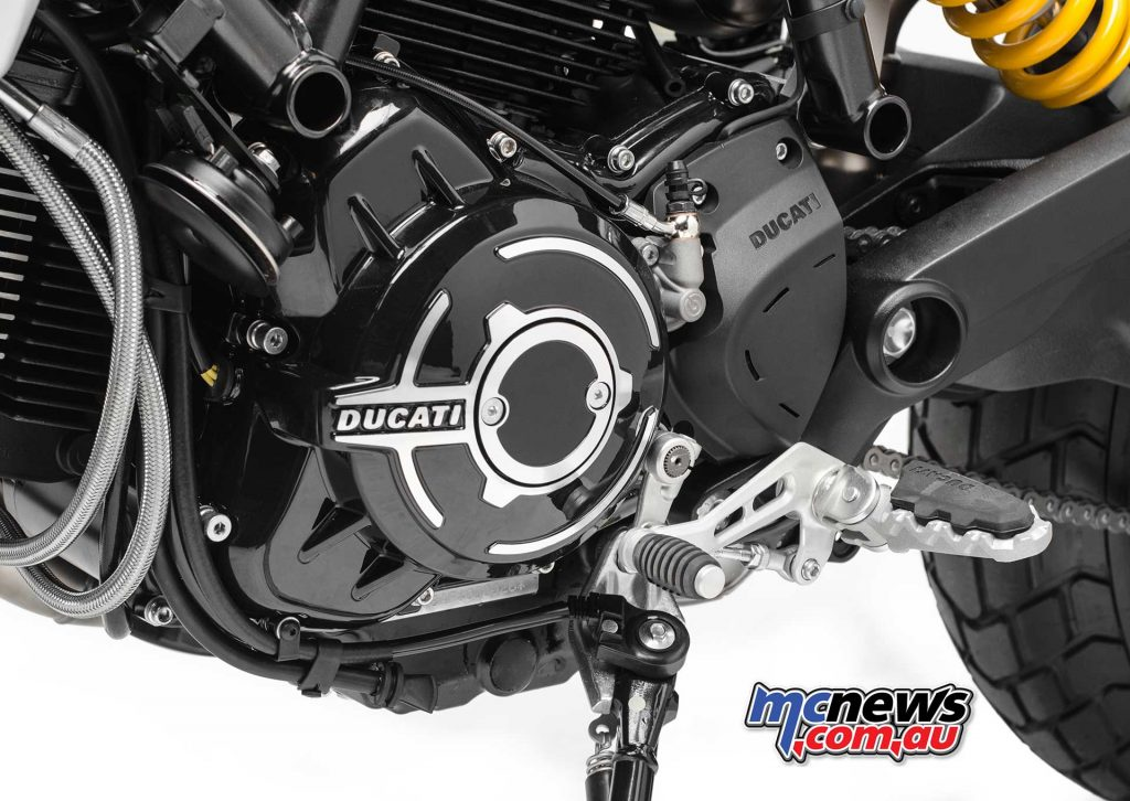 The new 1079cc powerplant is a key feature