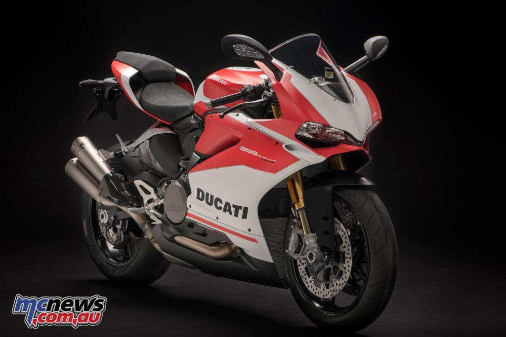 The 2018 Ducati 959 Panigale Corse
