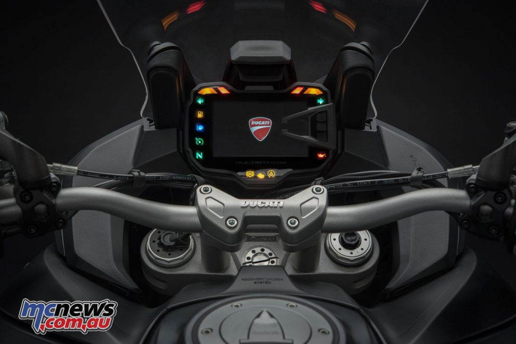 A new RBW and updated electronics are featured on the 2018 1260 Multistrada models