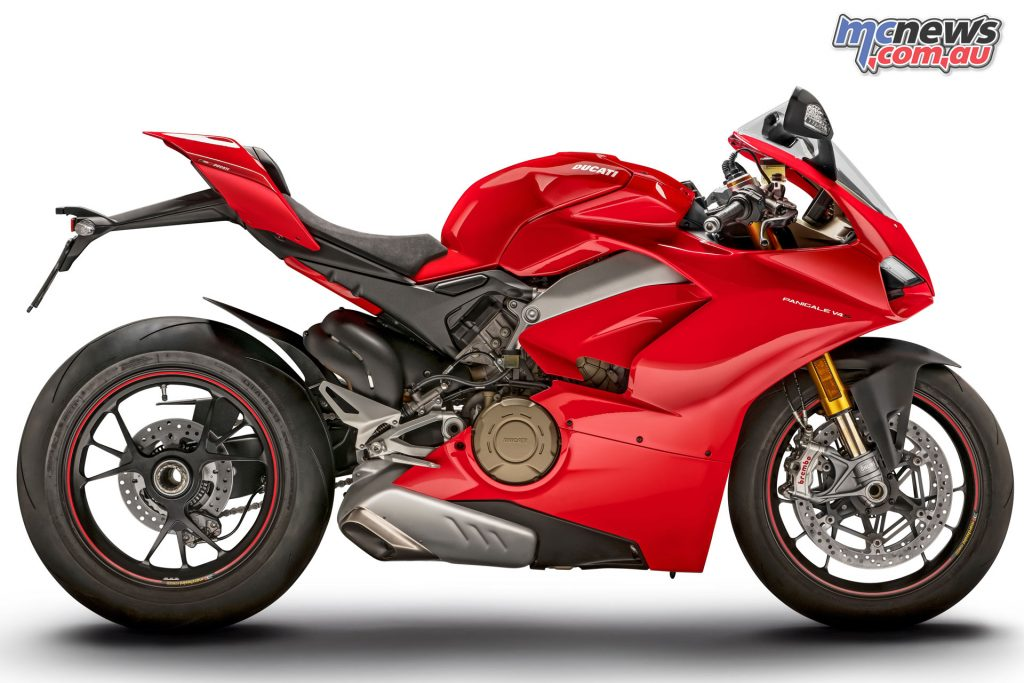 The 2018 Ducati Panigale V4 S
