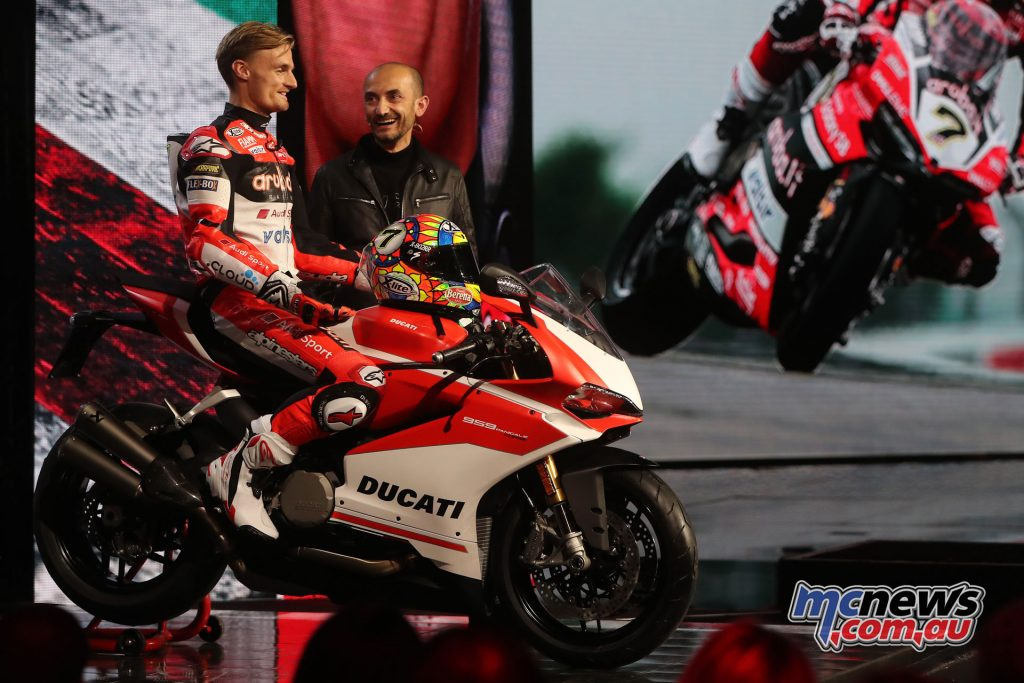 Chaz Davies introduces the new Panigale 959 Corse, fresh off taking second overall in the WorldSBK Championship