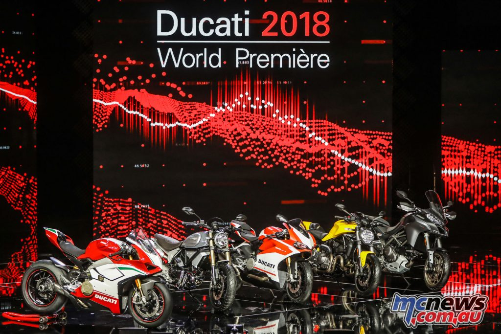 Ducati unveil the new for 2018 line-up