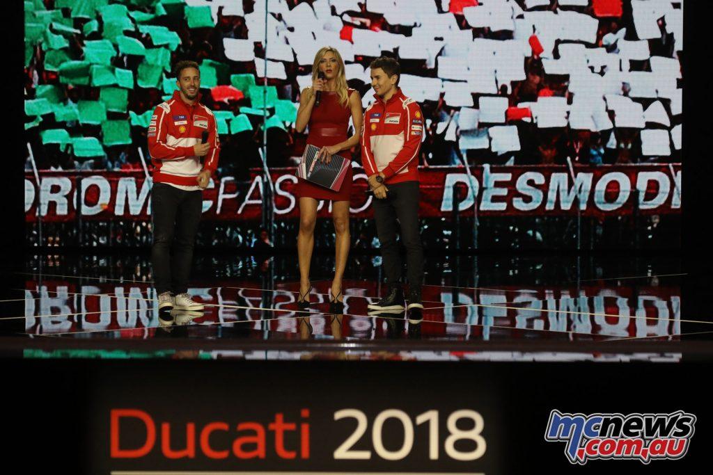 2018 Ducati World Premiere