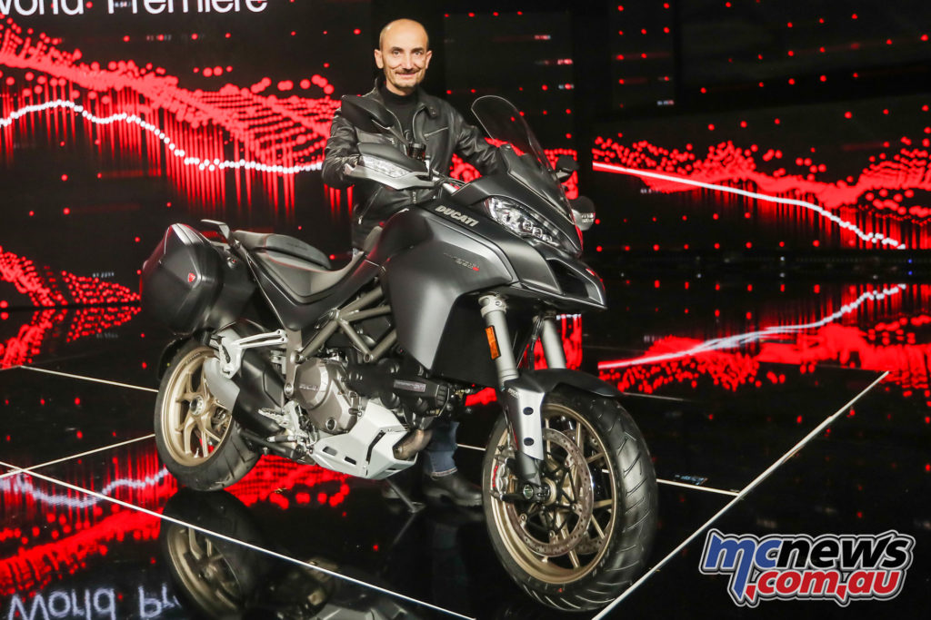 Also unveiled was the 2018 Ducati Multistrada 1260