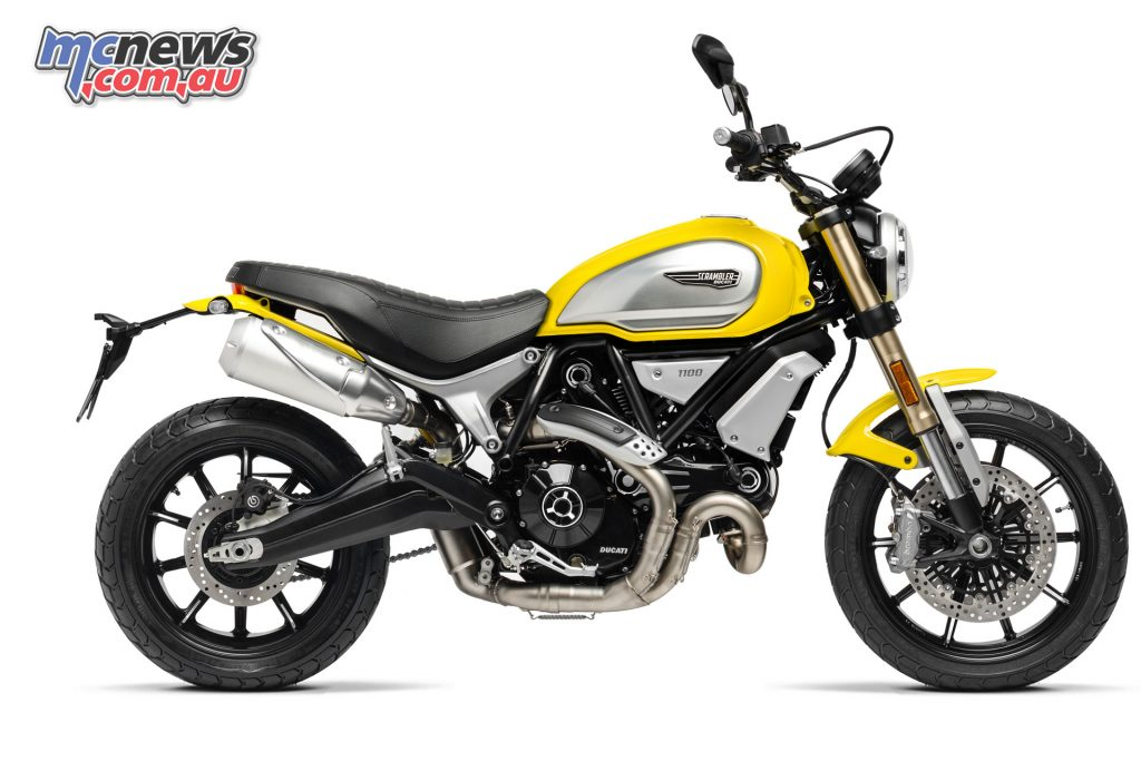 The 2018 Ducati Scrambler 1100 Eleven in Yellow