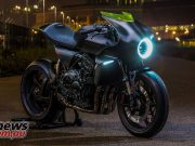 Honda CB4 'Interceptor' concept at EICMA