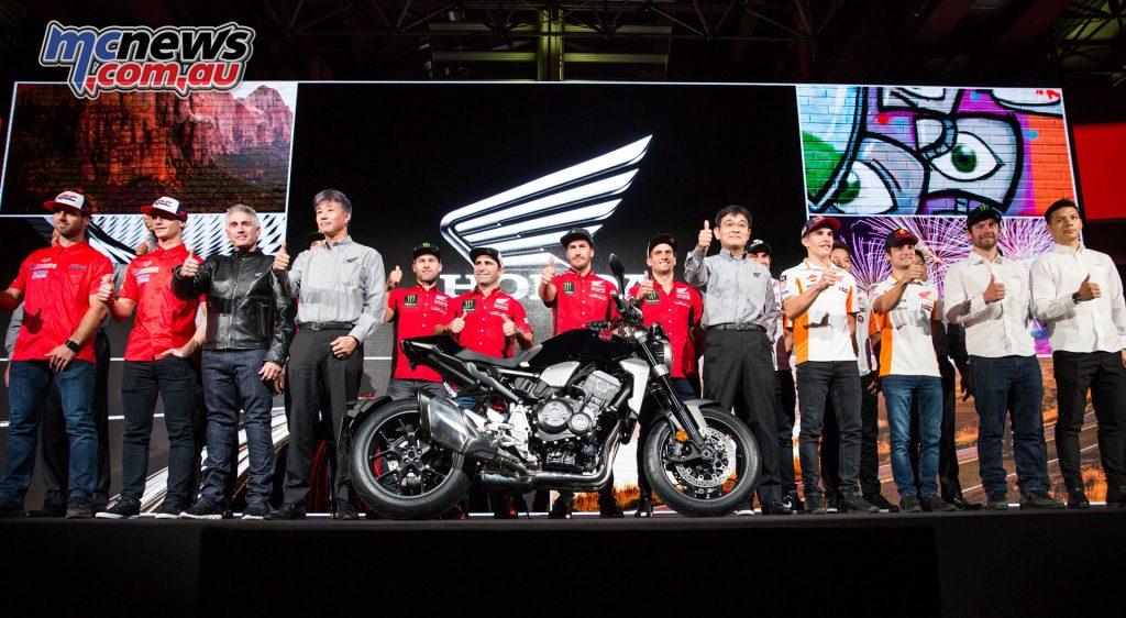 Honda 2018 MX Line-Up unveiled at EICMA