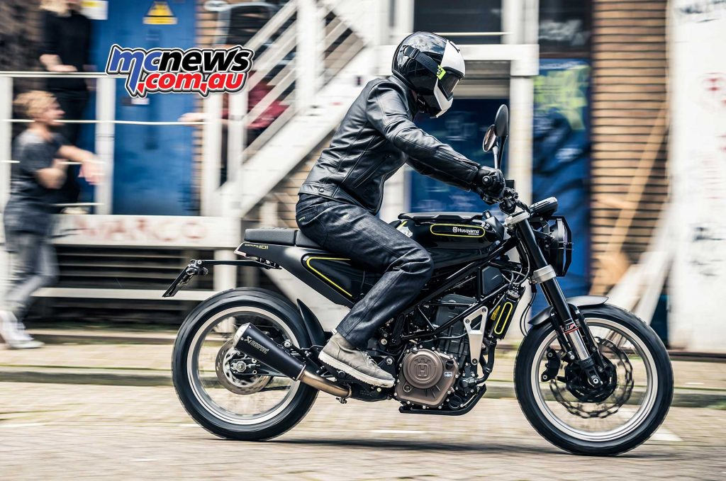 2018 Husqvarna Svartpilen 401 is expected to arrive in late March and will form part of Husky's assault on the roadbike sector
