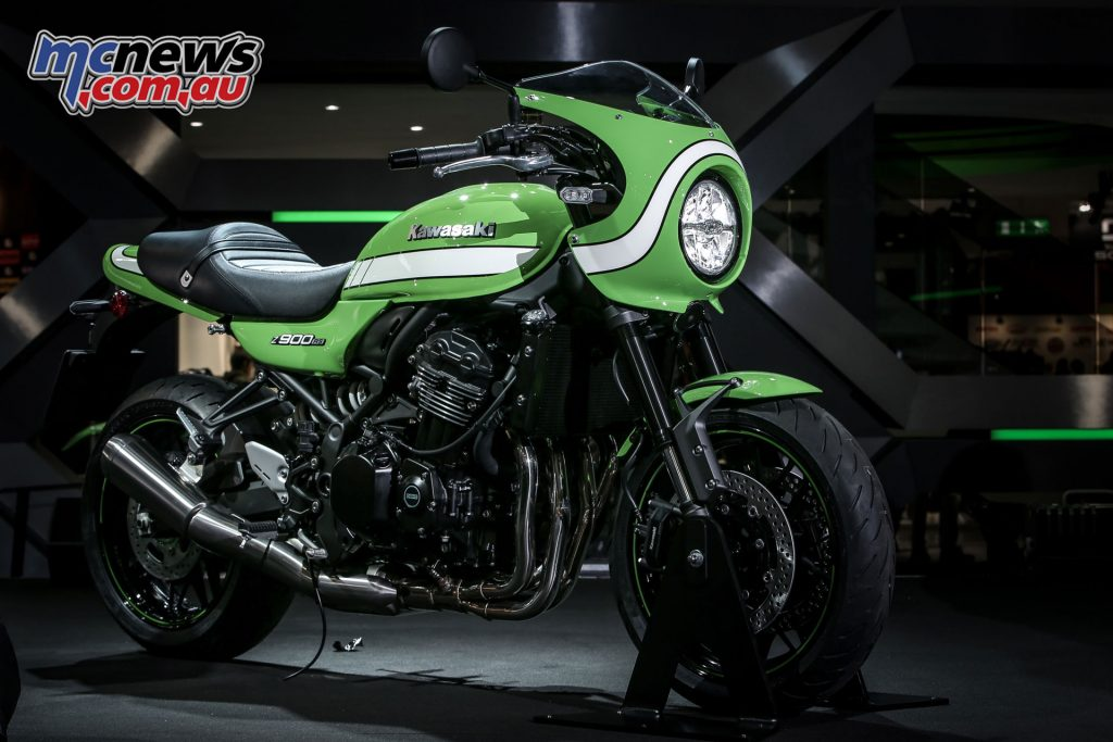 The Z900RS Cafe was also unveiled at EICMA