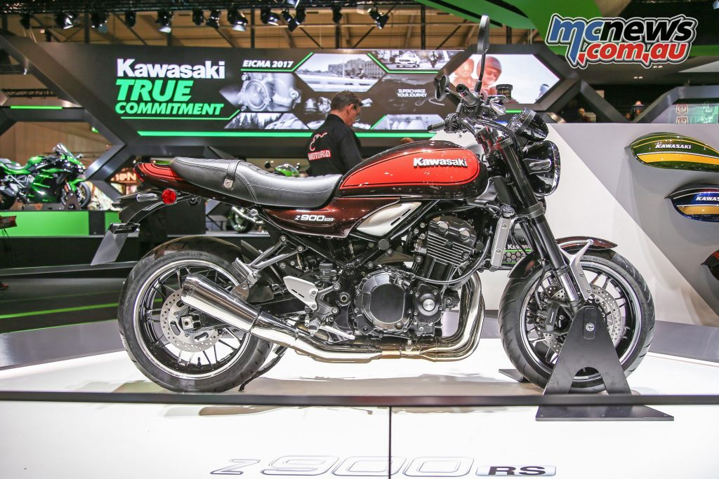 The Z900RS made its first appearance at EICMA