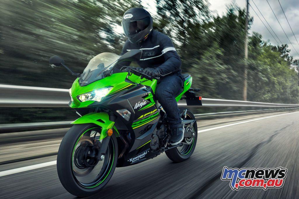 Kawasaki's Ninja 400