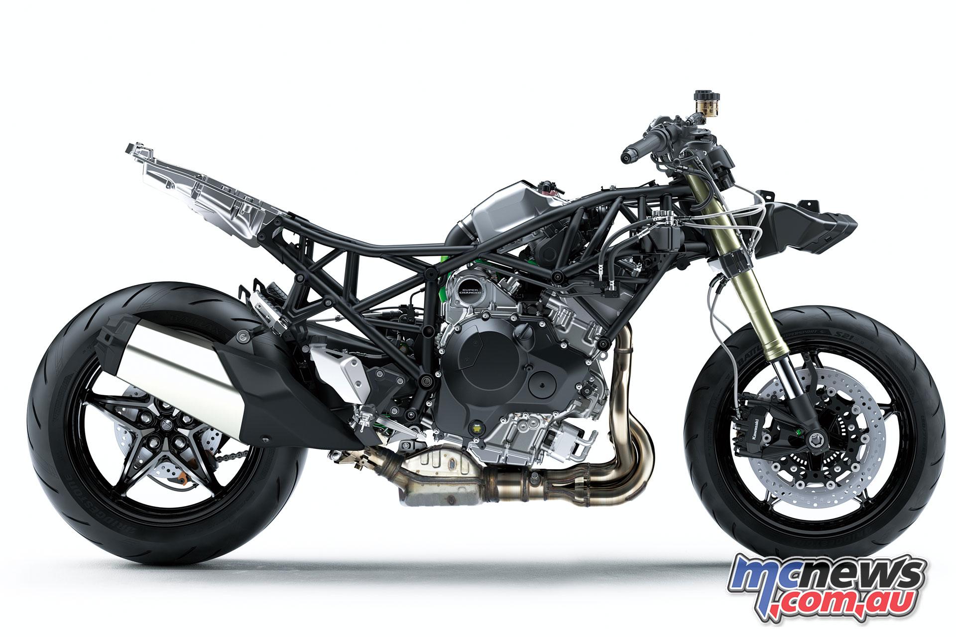Kawasaki Ninja H2 Sx Supercharged Sports Tourer Mcnewscomau