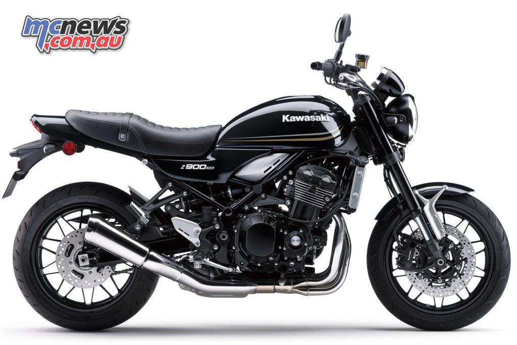 2018 Kawasaki Z900RS - Metallic Flat Spark Black