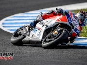 Andrea Dovizioso set the pace at the Jerez MotoGP Test sessions this week