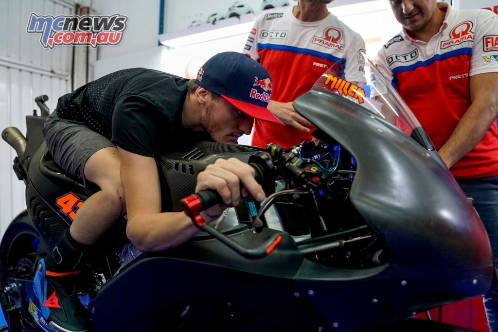 MotoGP 2018 sees Jack Miller contracted to Ducati and riding a Pramac Ducati