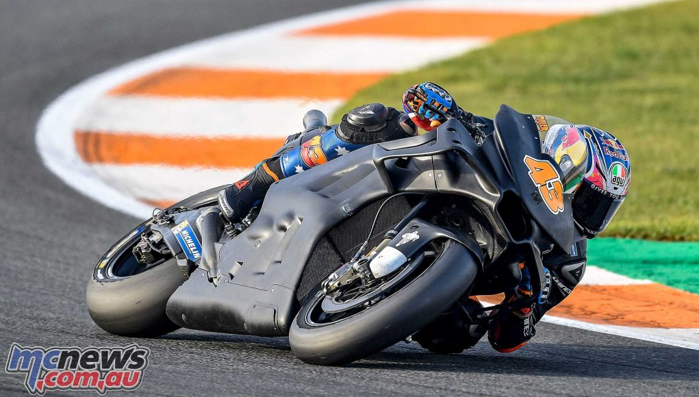 Early crash costs Jack Miller time at Valencia MotoGP Test