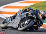 Early crash costs Jack Miller time at Valencia MotoGP Test