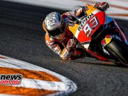 Marquez goes top with second last lap of the day
