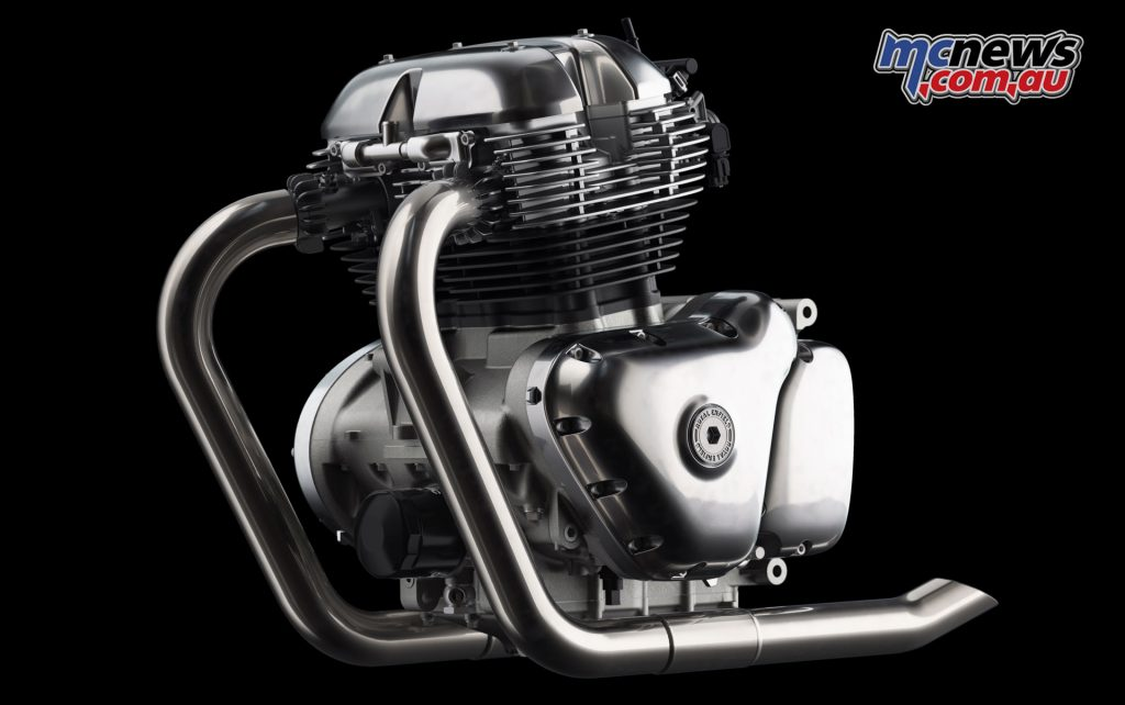 Royal Enfield's all new 650 parallel twin powerplant