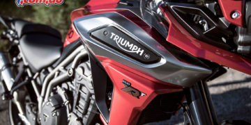 The Triumph Tiger 1200 sees a number of styling updates in 2018