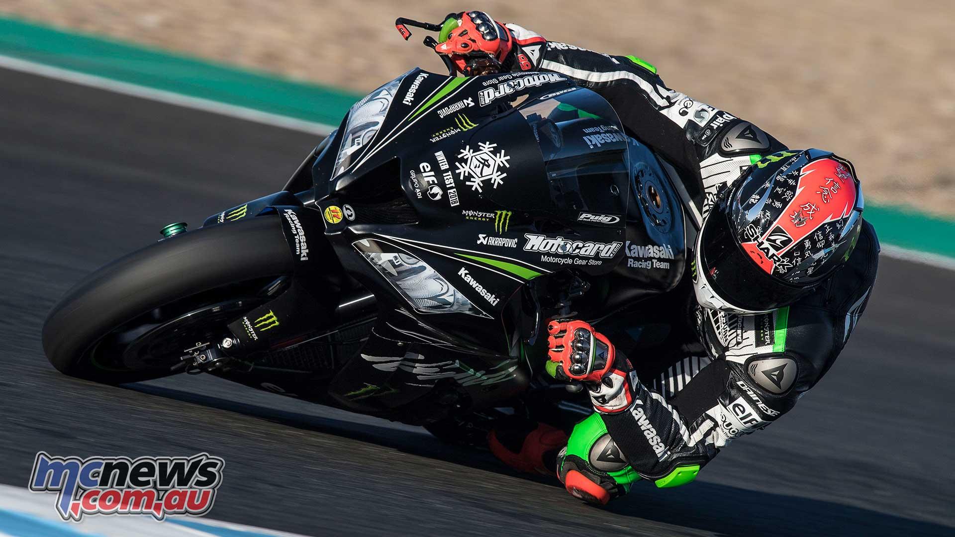 Tom Sykes tops Jerez WorldSBK Test | Davies injured | MCNews.com.au
