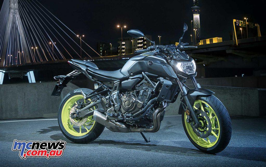 2018 Yamaha MT-07