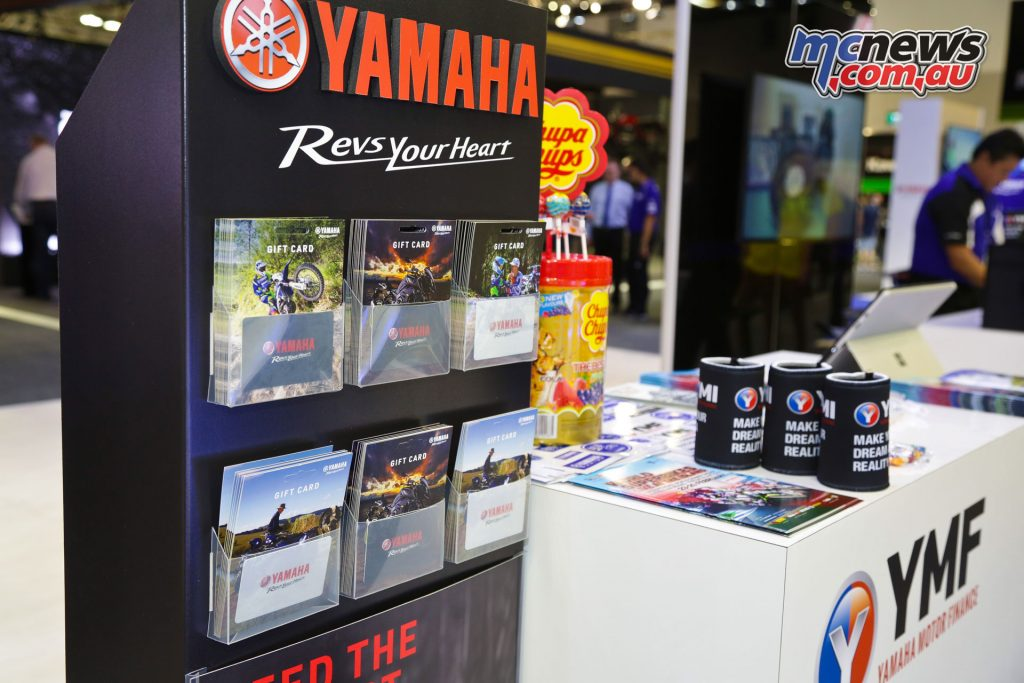 A range of Yamaha Gift Card designs are available