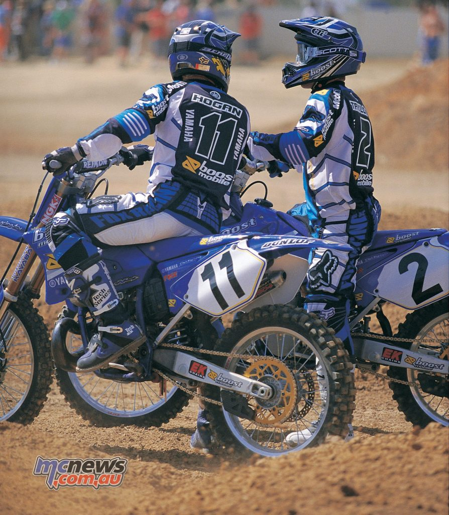 Cam Taylor and Lee Hogan - CDR Yamaha