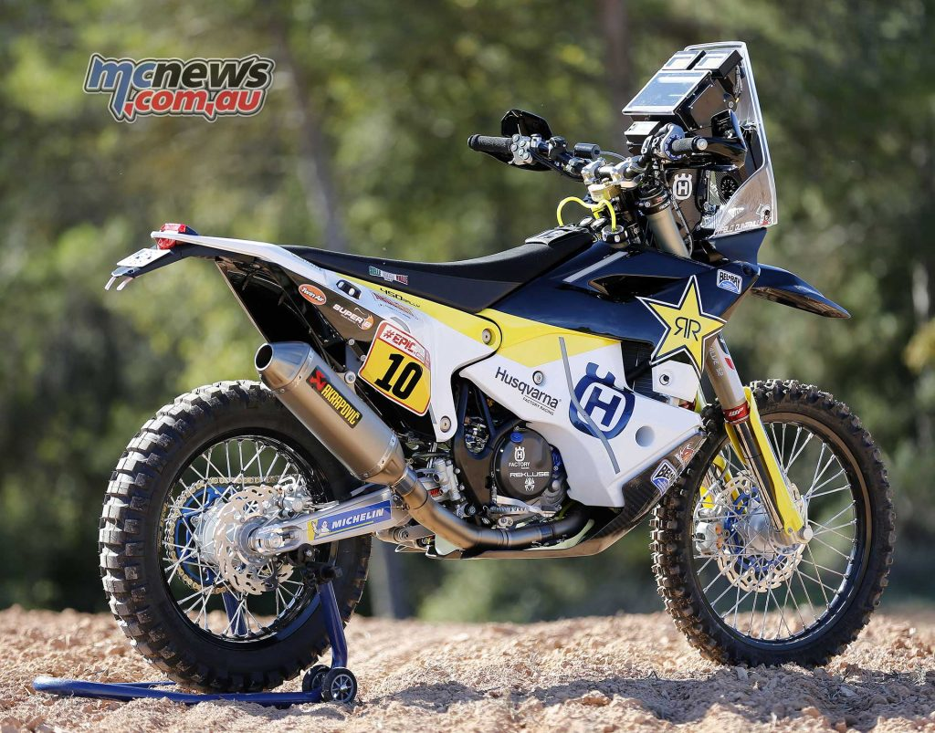 Husqvarna FR 450 Rally for Dakar 2018
