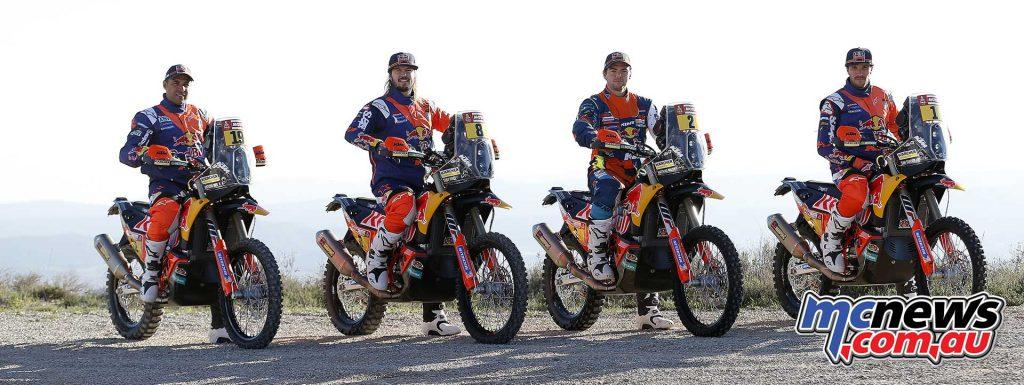 KTM Rally Factory Racing Team
