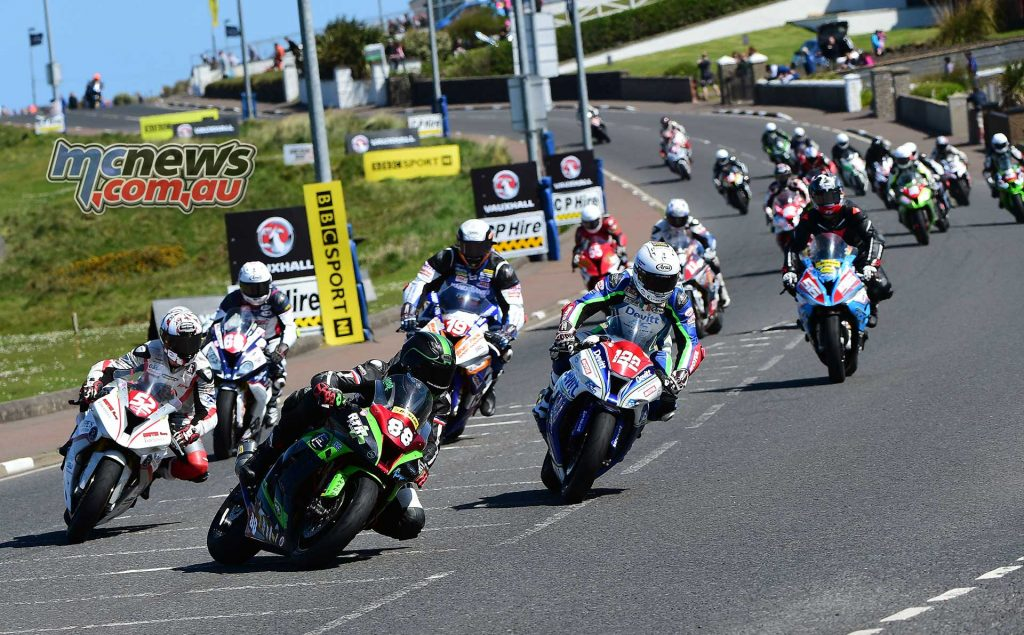 Dan Hegarty at the NW200 - Image by Jon Jessop
