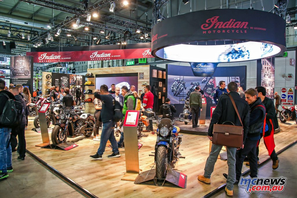 Indian Motorcycles at EICMA