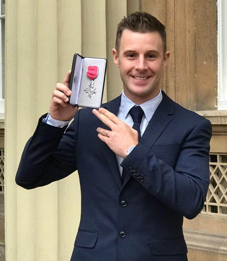Jonathan Rea headed back to London to receive an MBE from The Duke of Cambridge in a ceremony at Buckingham Palace.