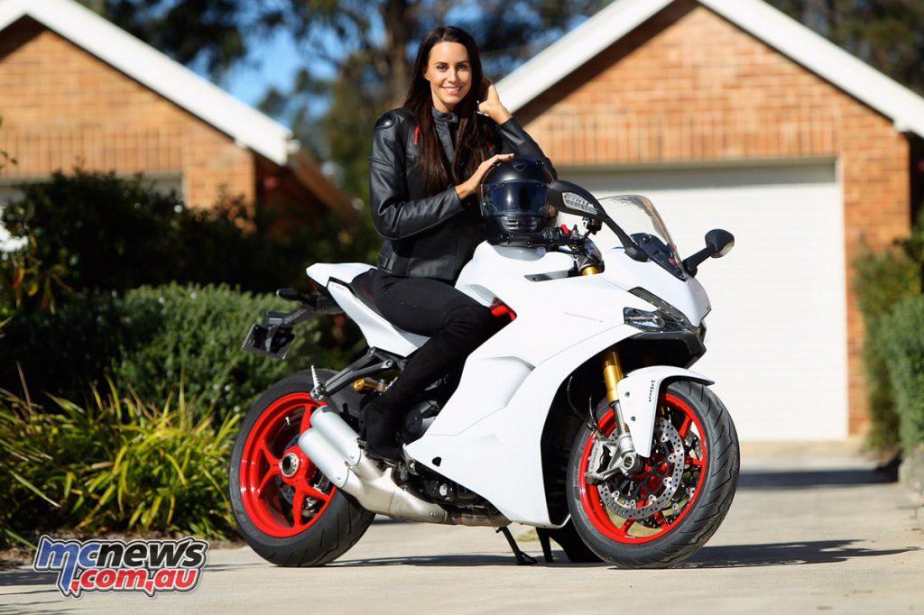 Lauren Vickers - Ducati Ambassador