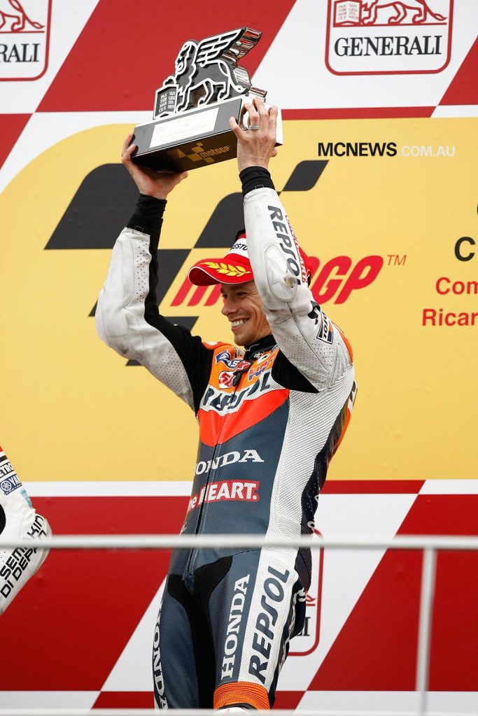 Casey Stoner - Valencia 2011 - Image by AJRN